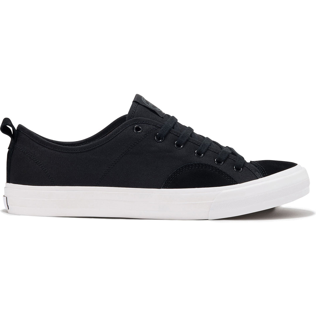 STATE - HARLEM - BLACK/WHITE SUEDE/CANVAS