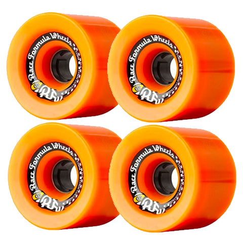 SECTOR 9 RACE FORMULA LONGBOARD WHEELS ORANGE 72MM 78A