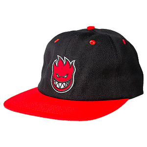 SPITFIRE ADJUSTABLE CAP LIL BIGHEAD GREY/RED