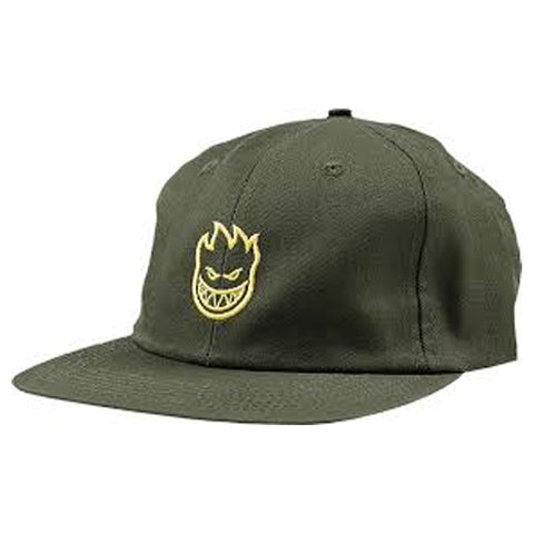 SPITFIRE ADJUSTABLE CAP LIL BIGHEAD GREEN/YELLOW