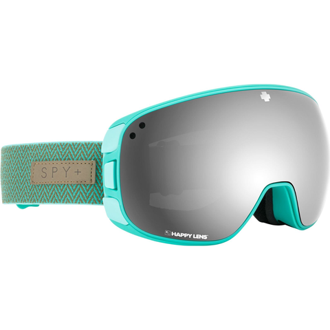SPY - BRAVO GOGGLE - HERRINGBONE MINT - HAPPY GREY GREEN