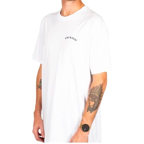 DICKIES TARPLEY CLASSIC FIT SS TEE WHITE