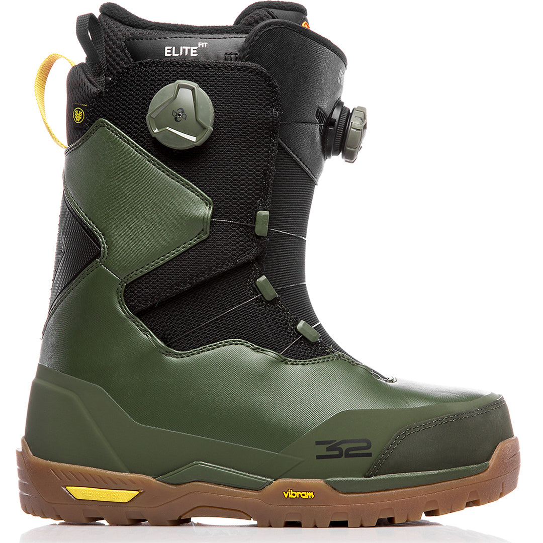 THIRTYTWO FOCUS 2019 BOOTS OLIVE BLACK GUM