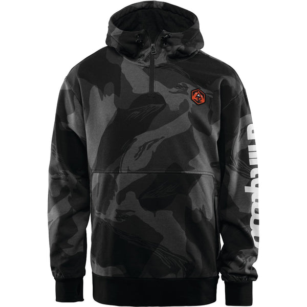 THIRTYTWO - STAMPED PULL OVER HOOD 2019 - BLACK/CAMO