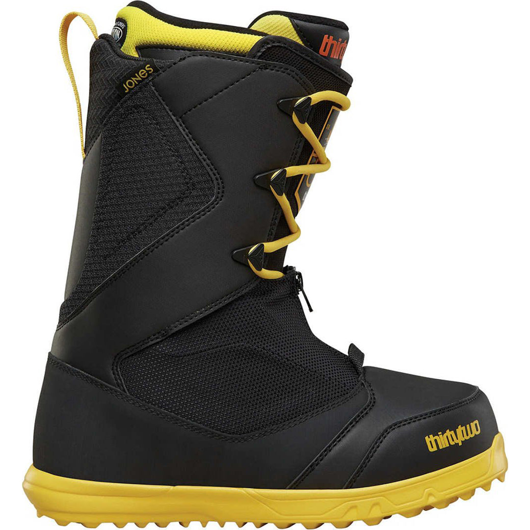 THIRTYTWO ZEPHYR BOOTS 18 JONES BLACK YELLOW