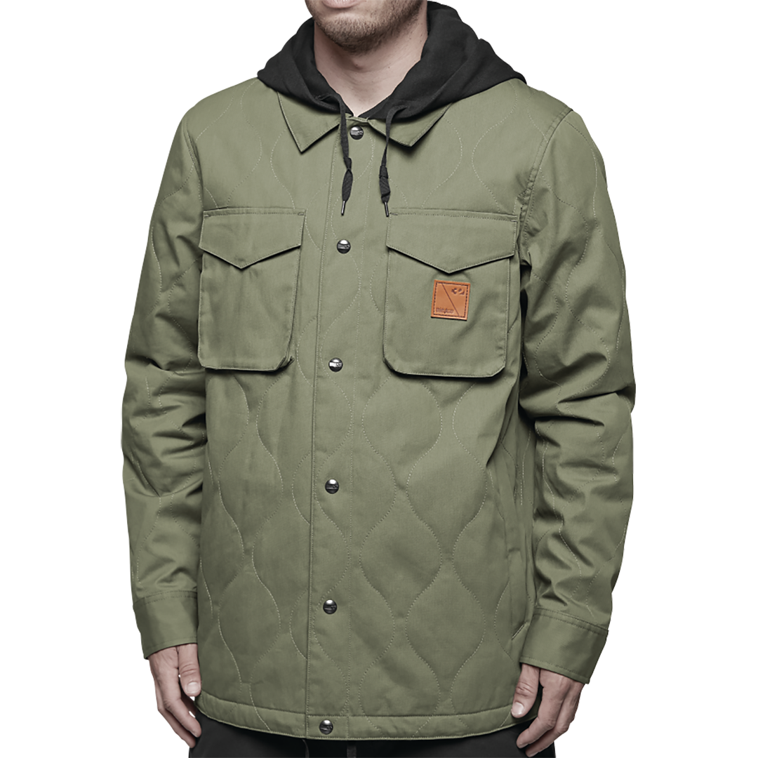 THIRTYTWO - MYDER 2018 - MENS JACKET - FATIGUE