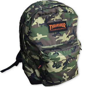 THRASHER - MAGAZINE LOGO - BACKPACK - CAMO