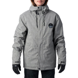 RIP CURL THE TOP NOTCH SNOW JACKET STEEL GREY