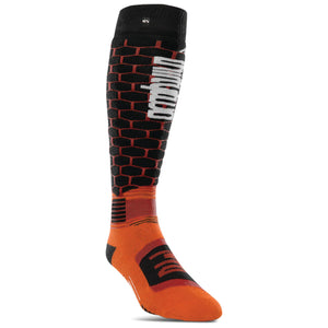 THIRTYTWO ASI MERINO ELITE SOCKS ORANGE