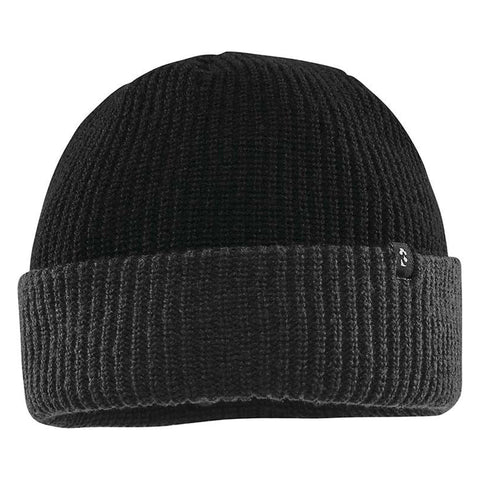 THIRTYTWO BASIXX BEANIE 2-TONE BLACK