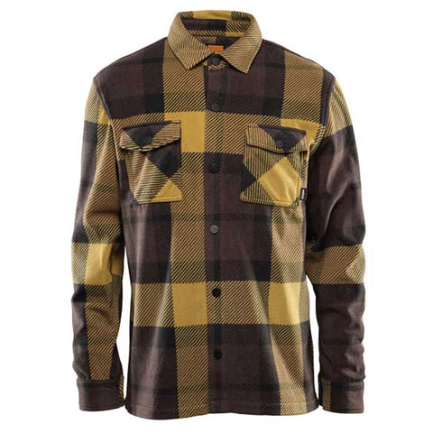 THIRTYTWO REST STOP FLEECE 2020 BROWN BLACK