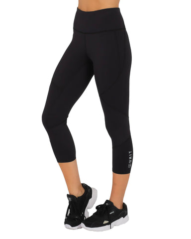 UNIT WOMENS MOTION LEGGINGS - BLACK