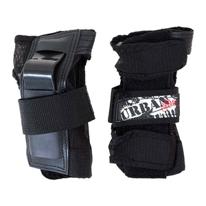 URBAN SK8R WRIST GUARDS - BLACK