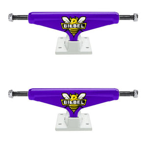 VENTURE BIEBEL PURPLE LOW TRUCKS - 5.0