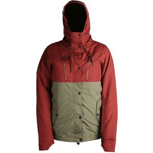 RIDE - WALLINGFORD 2019 - WOMENS JACKET - MAHOGANY OLIVE