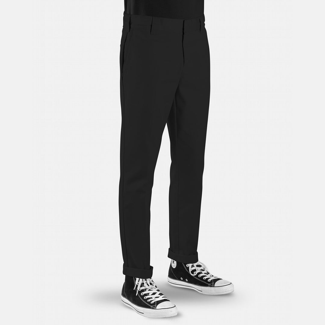 DICKIES - 872 SLIM TAPERED FIT PANTS - BLACK