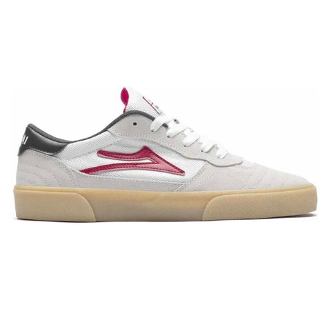 LAKAI CAMBRIDGE - WHITE/RED