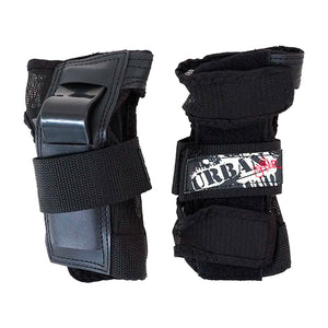 URBAN SK8R KIDS WRIST GUARDS - BLACK