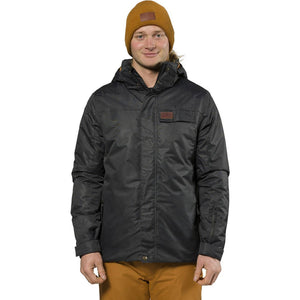 XTM - AXEL MENS PLUS-SIZE SNOW JACKET 2019 - BLACK DENIM
