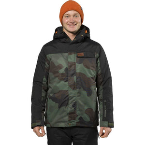 XTM - AXEL MENS SNOW JACKET 2019 - ARMY CAMO