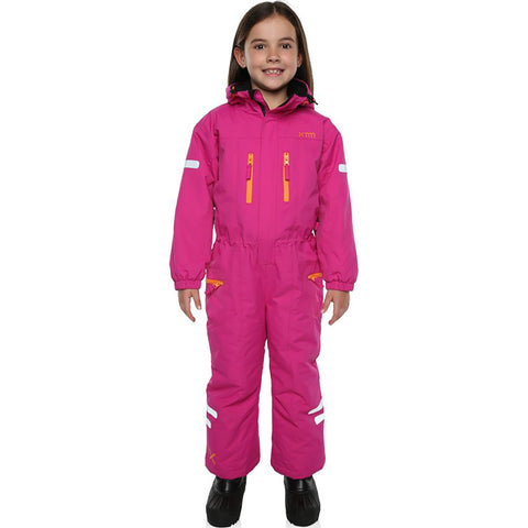 XTM - KORI KIDS ONE-PIECE SNOW SUIT 2019 - BERRY PINK