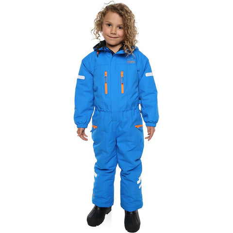 XTM - KORI KIDS ONE-PIECE SNOW SUIT 2019 - BRIGHT BLUE