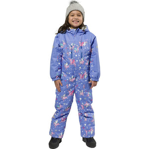 XTM - KORI KIDS ONE-PIECE SNOW SUIT 2019 - CORNFLOWER