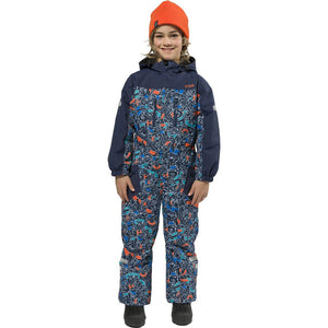 XTM - KORI KIDS ONE-PIECE SNOW SUIT 2019 - NAVY