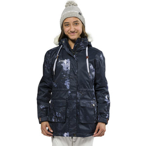 XTM - MADISON KIDS JACKET 2019 - NAVY FLORAL
