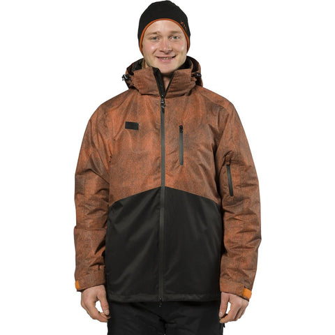 XTM - MASON MENS SNOW JACKET 2019 - RUST DENIM