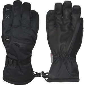 XTM - SAMURAI MENS SNOW GLOVE - BLACK