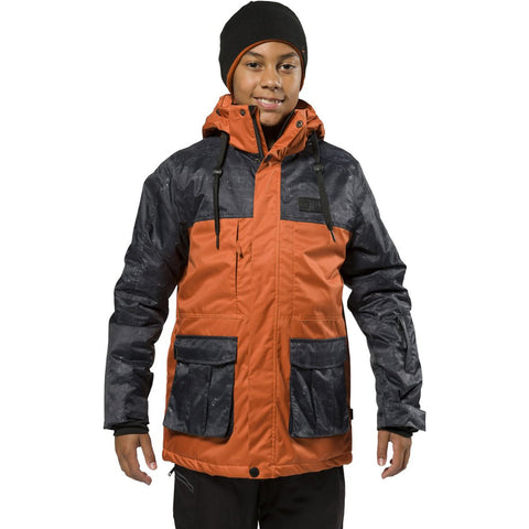 XTM - XAVIER KIDS JACKET 2019 - RUST