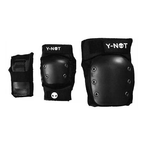 Y-NOT TRI PACK PROTECTIVE GEAR - BLACK