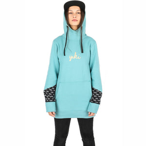 YUKI THREADS - ALICE UNISEX HOOD 2019 - SEA GREEN