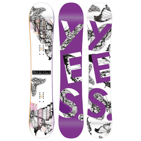 YES HEL YES 2022 WOMENS SNOWBOARD - (DEPOSIT ONLY - RRP $829.99)