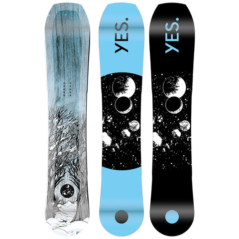 YES HYBRID 2022 SNOWBOARD - PREORDER (ARRIVAL LATE APRIL)