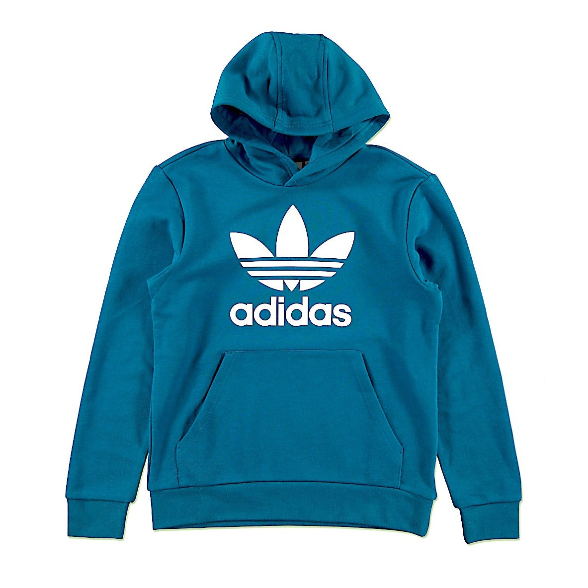 ADIDAS TREFOIL HOODIE YOUTH - BLUE