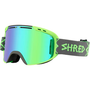 SHRED - AMAZIFY GOGGLES 2018 - BIG SHOW GREY GREEN