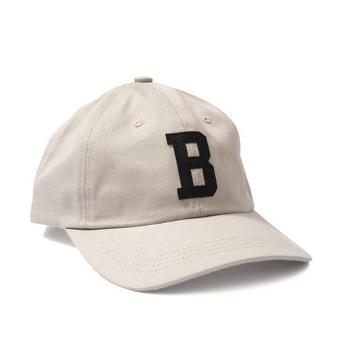 BRONZE 56K LEATHER B CAP - CREAM