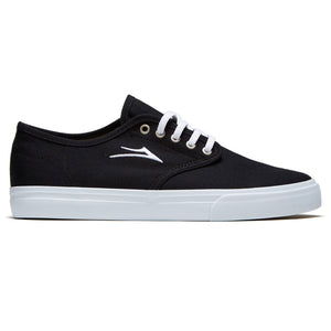 LAKAI OXFORD - BLACK CANVAS