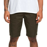 "DC WORKER 20.5"" CHINO SHORT OLIVE GREEN"