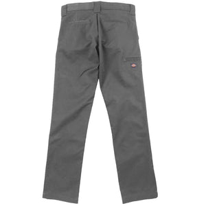 DICKIES SKINNY STRAIGHT FIT YOUTH WORK PANTS  - GREY