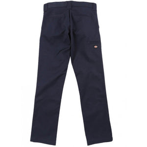 DICKIES SKINNY STRAIGHT FIT YOUTH WORK PANTS  - NAVY