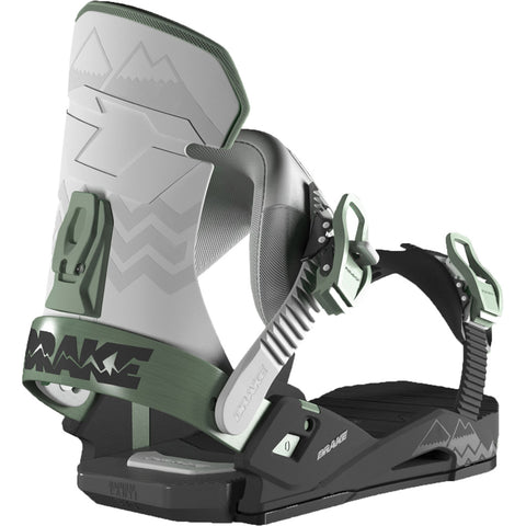 DRAKE RELOAD  BINDING BLACK GREY GREEN