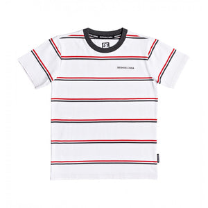 DC CORNING YOUTH TEE - WHITE/RED
