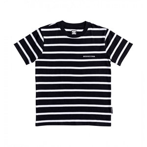 DC KESTERS YOUTH TEE - BLACK/WHITE