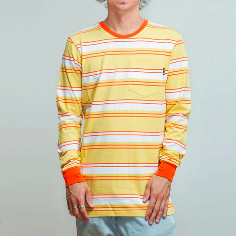 FYVE LONG SLEEVE TEE SUNSET