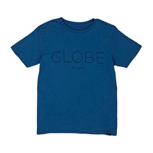 GLOBE PHASE YOUTH TEE MOROCCAN BLUE