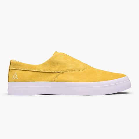 HUF DYLAN SLIP ON SHOE - YELLOW