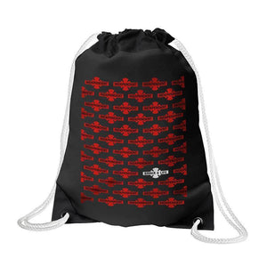 INDEPENDENT BAKER 4 LIFE DRAWSTRING BAG - BLACK